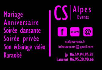 CS Alpes Events